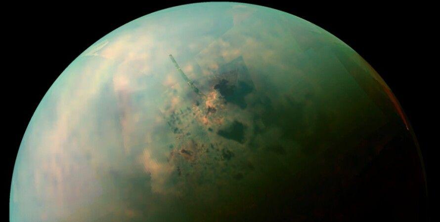 Титан, Сатурн, спутник, погода