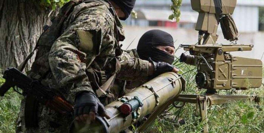 Боевики в Донбассе / Фото: uapress.info
