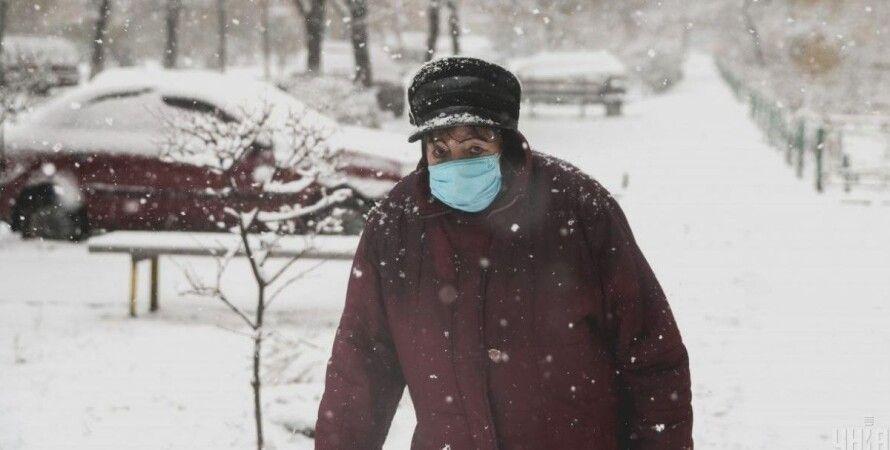 коронавирус, украина, статистика, 4 февраля, новые, заболевшие, фото, человек, снег