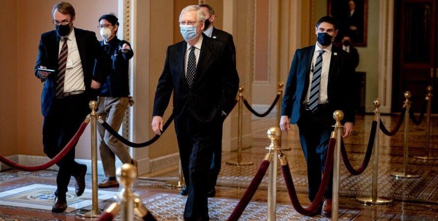 Митч Макконнелл, Сенат США, Импичмент, Дональд Трамп, Республиканцы