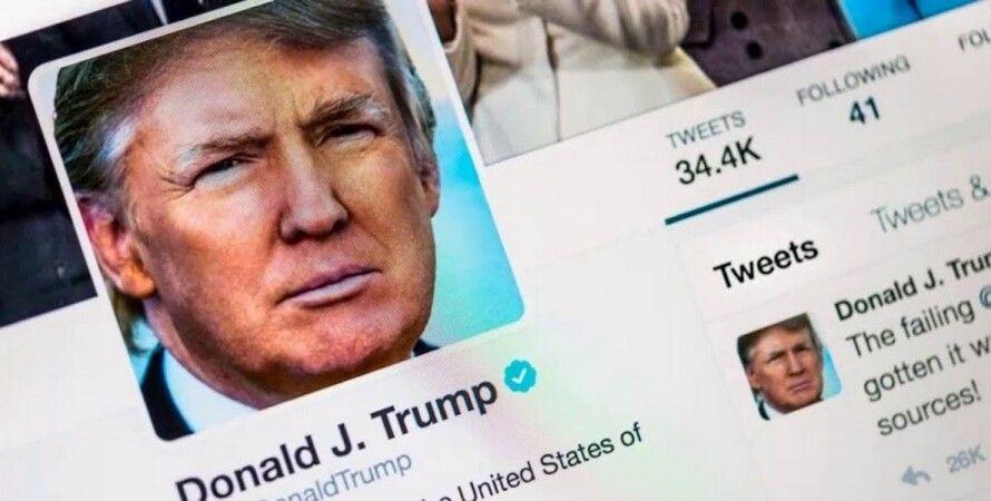 трамп, капітолій, заворушення, твіттер, блокування, Twitter, акаунт