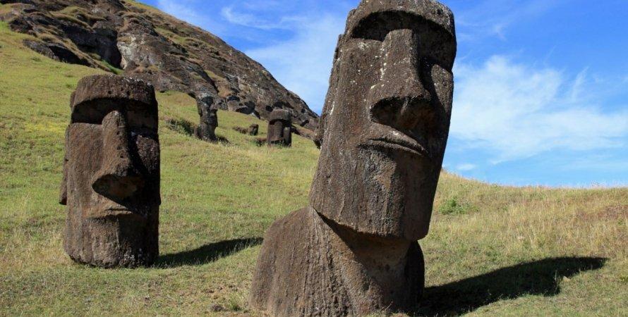 острів, Пасхи, цивілізація