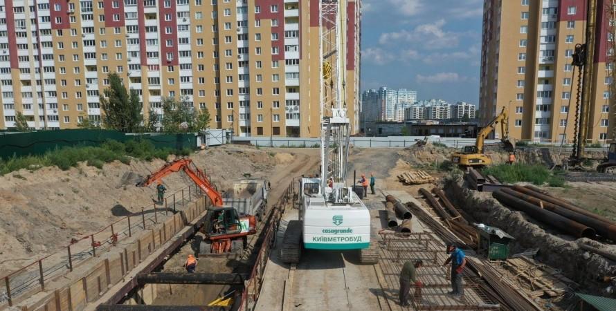 киев, метро, виноградарь, метро на Виноградарь