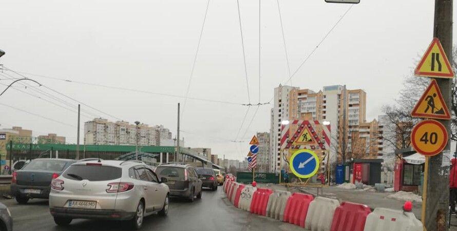 Ремонт Индустриального моста в Киеве