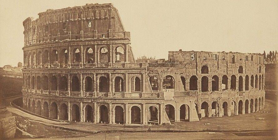 колизей, рим, старые фото, ретро, туризм, аукцион