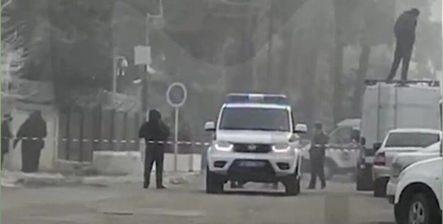 Взрыв у здания ФСБ