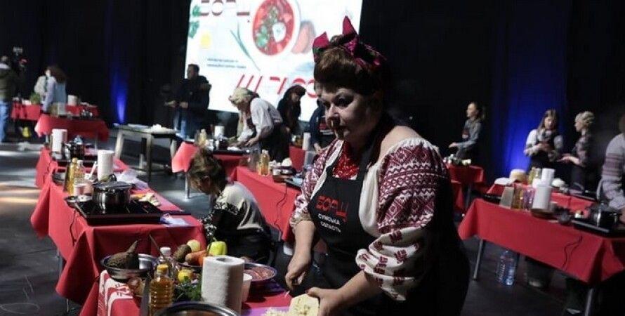 Киев, фестиваль борща, борщ, Александр Ткаченко, блюдо