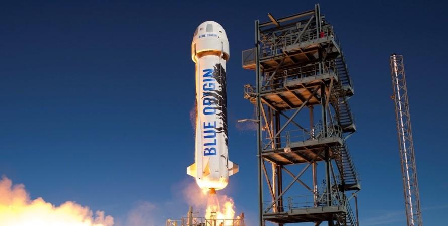 Blue Origin, космический корабль, космический туризм