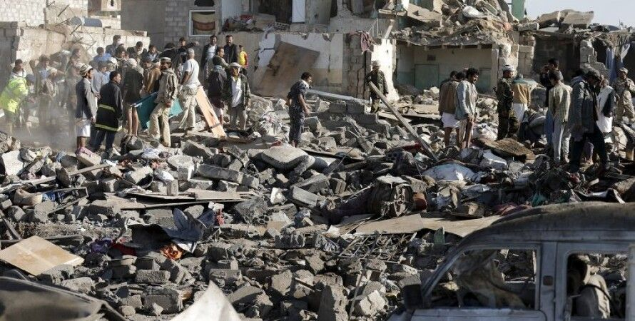 Последствия авиаударов в Йемене / Фото: Reuters