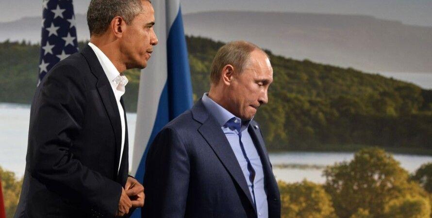 Барак Обама и Владимир Путин / Фото: AFP
