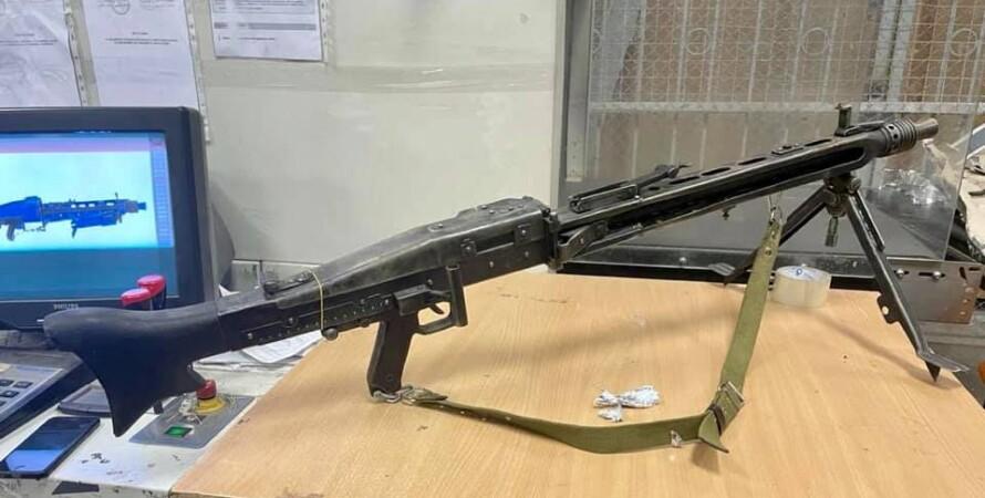 Пулемет, MG 42, таможня