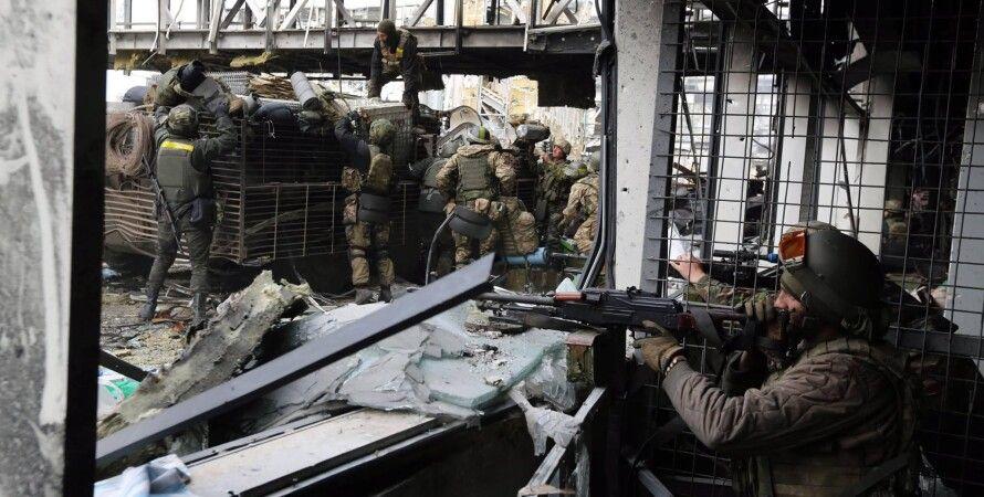 Защитники донецкого аэропорта / Фото: facebook.com/sergei.loiko