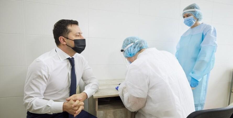 Володимир Зеленський, президент України, коронавірус, вакцинація, причини,