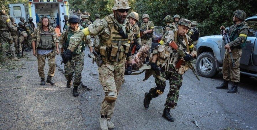Последствия боя за Марьинку / Фото из открытых источников