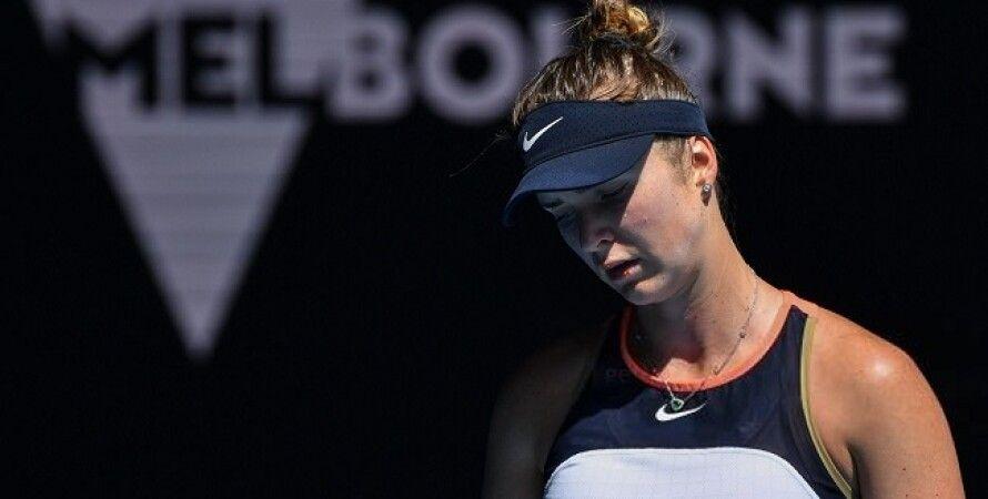 Теннис, Поражение, Элина Свитолина, Джессика Пегула, Мельбурн, Australian Open