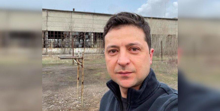 Володимир Зеленський, президент України, поїздка на Донбас, загострення на Донбасі