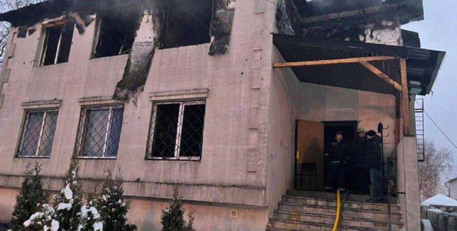 пожар, Харьков, дом престарелых, материальная помощь, пожар в Харькове
