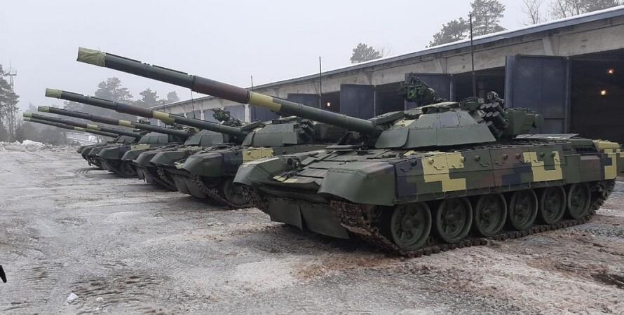танки для всу, танки, киевский бронетанковый передал танки для всу