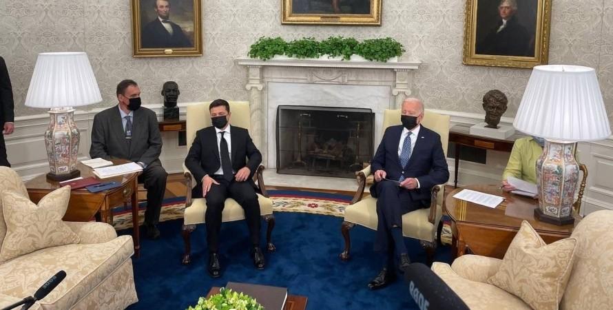 В Белом доме началась встреча Зеленского и Байдена