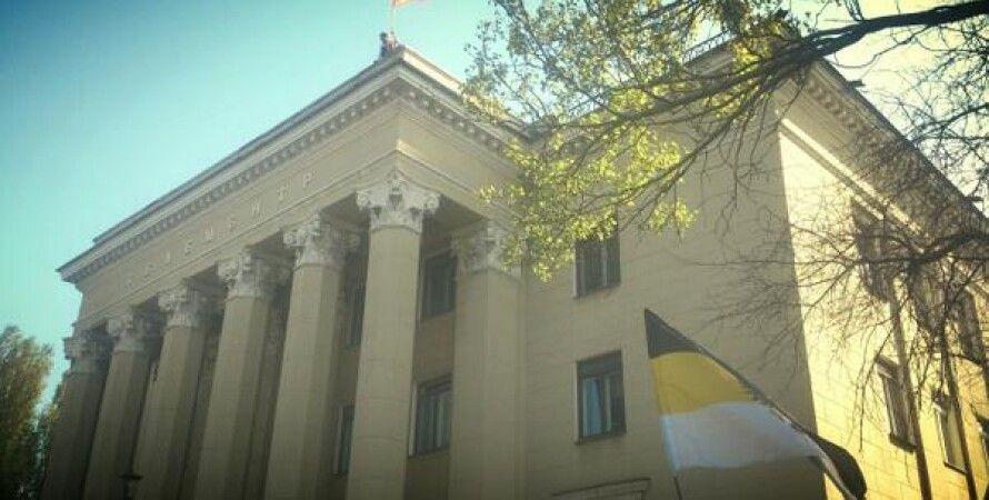 Здание Луганской ОГТРК / Фото: Tsn.ua
