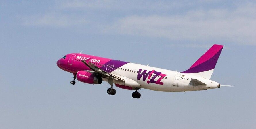Самолет Wizz Air / Фото из открытого источника