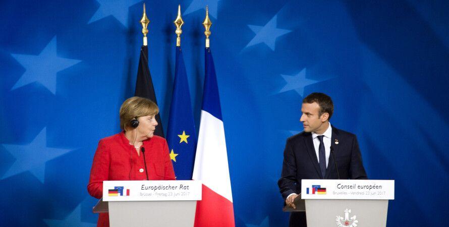 Ангела Меркель и Эммануэль Макрон / Фото: flickr.com/europeancouncil