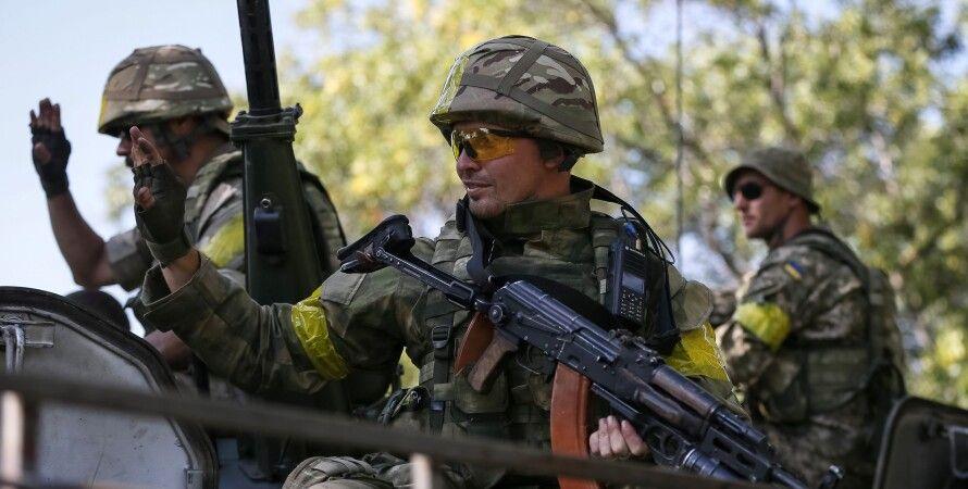 "Бойцы АТО / Фото: ""112 Украина"""