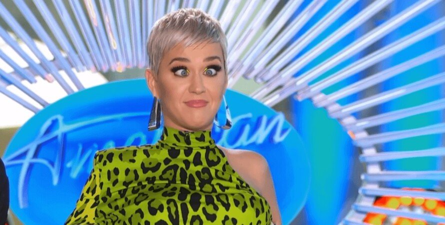 Кэти Перри, скриншот, певица, American Idol
