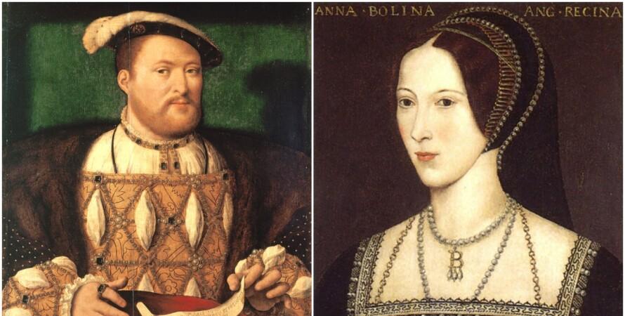 Генріх VIII і Анна Болейн