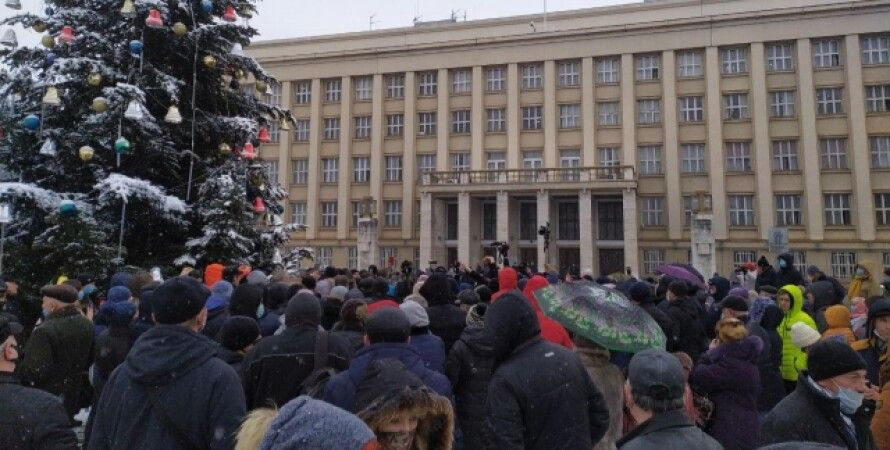 Ужгород, протесты, тарифы. газ, электричество, тарифные протесты