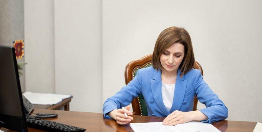 Майя Санду, Молдова, Парламент, Досрочные выборы, Конституционный суд, Чрезвычайное положение