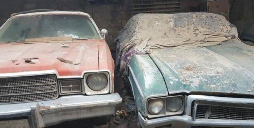 Бахрейн, заброшенная коллекция классических авто в Бахрейне