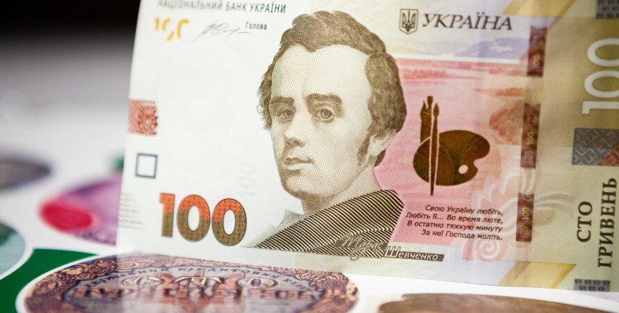 банкнота, 100 грн, курс, фото