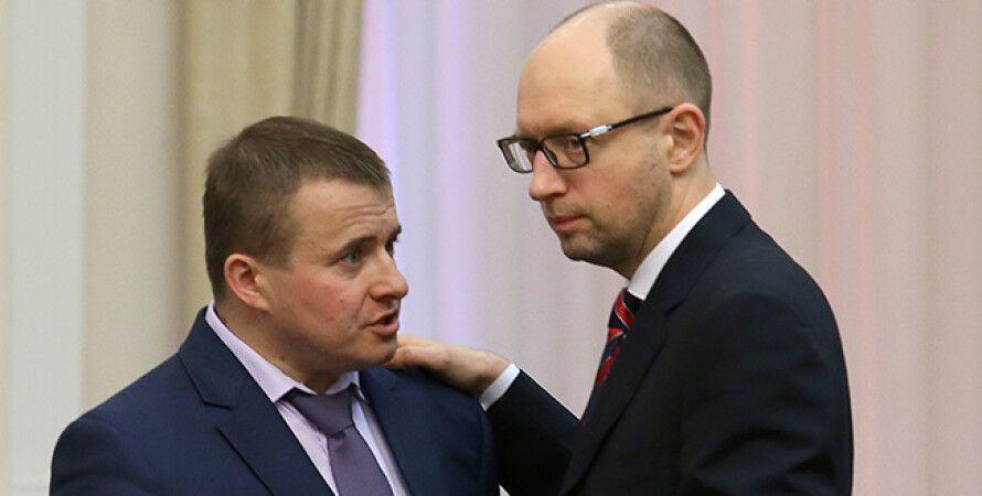 Владимир Демчишин, Арсений Яценюк / Фото: