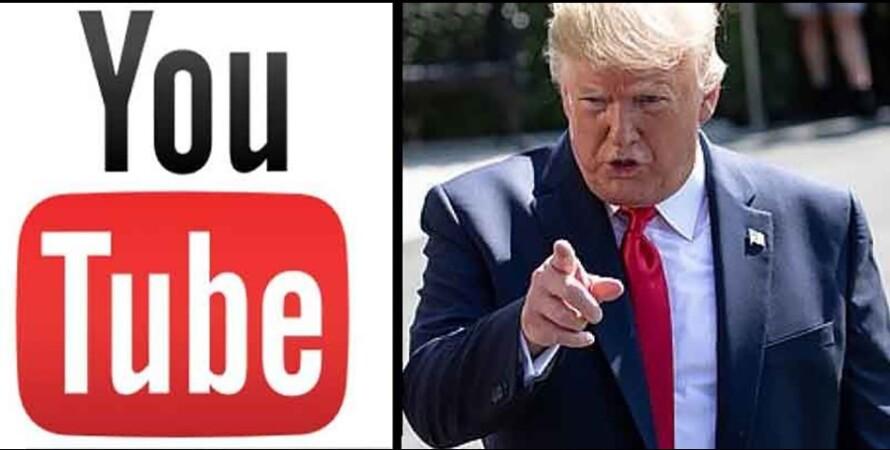 youtube и Дональд Трамп