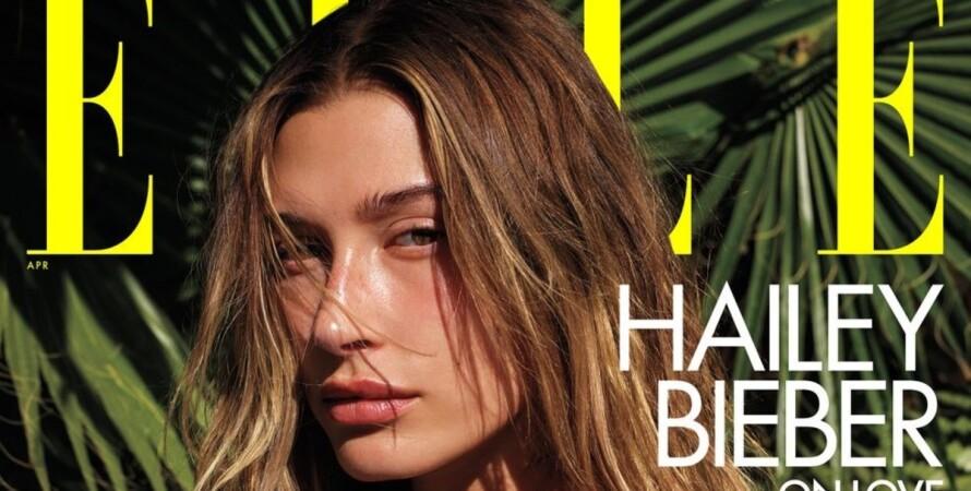 Хейлі Бібер, модель, фотосесія, Elle