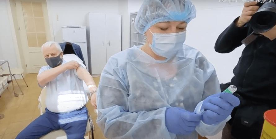 Леонид Кравчук, вакцина, прививка, коронавирус, covid-19, пандемя коронавируса в украине