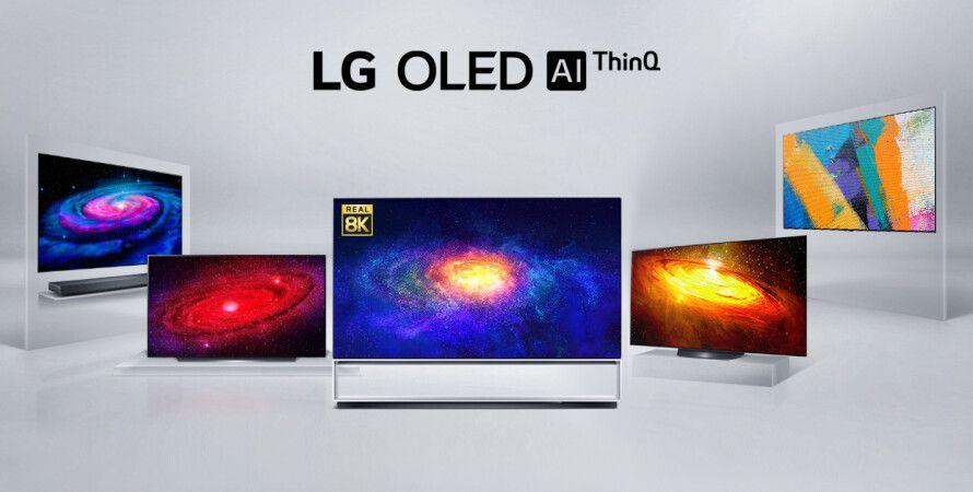 OLED-телевізори LG