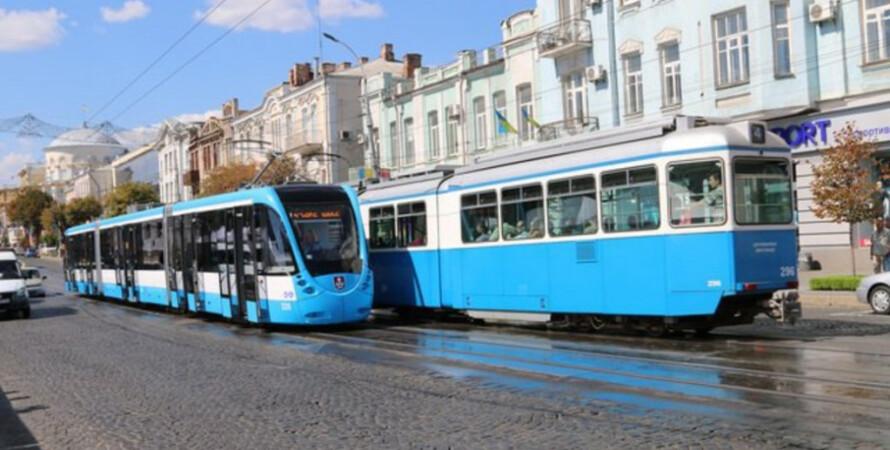 общественный транспорт, трамвай