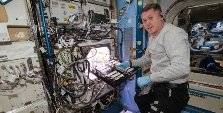 Астронавт Шейн Кимбро на МКС