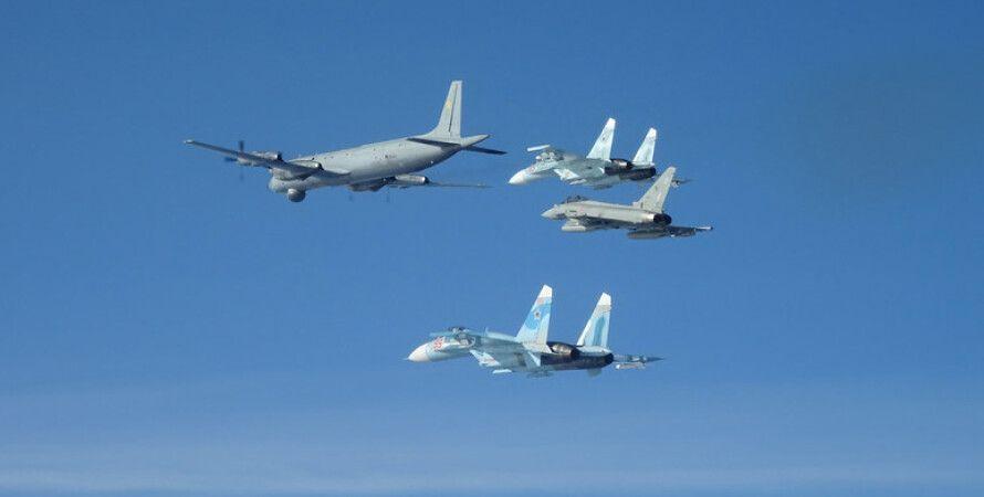 НАТО, Російські літаки, Повітряний простір, Перехоплення