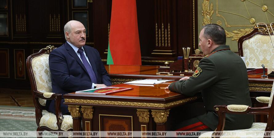 Олександр Лукашенко, міністр оборони Білорусі