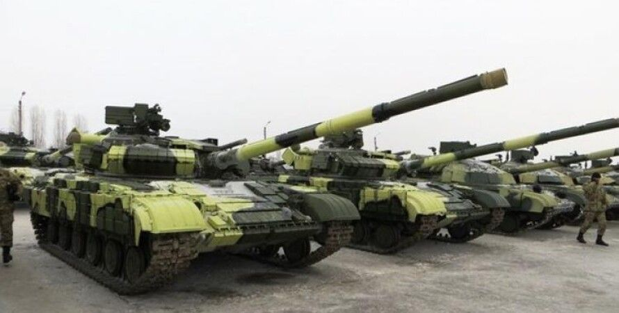 "Танки террористов ""ДНР"" / Фото: newstes.ru"