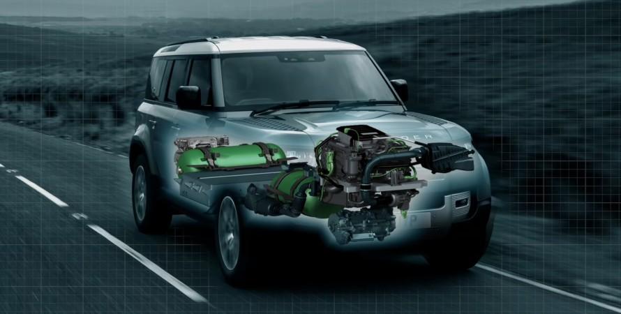 Land Rover Defender на паливних елементах