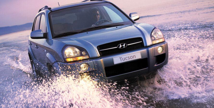 Hyundai Tucson, самый популярный кроссовер в Украине