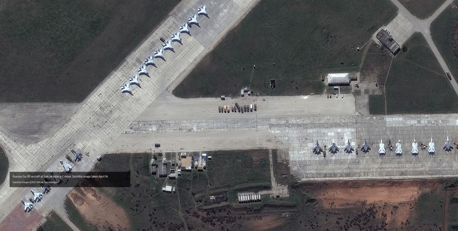 авіабаза окупантів в криму