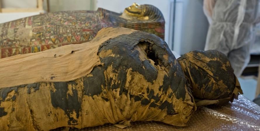 давньоєгипетська мумія, варшава, дослідження