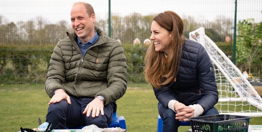 герцоги Кембриджського, Кейт Міддлтон, принц Вільям
