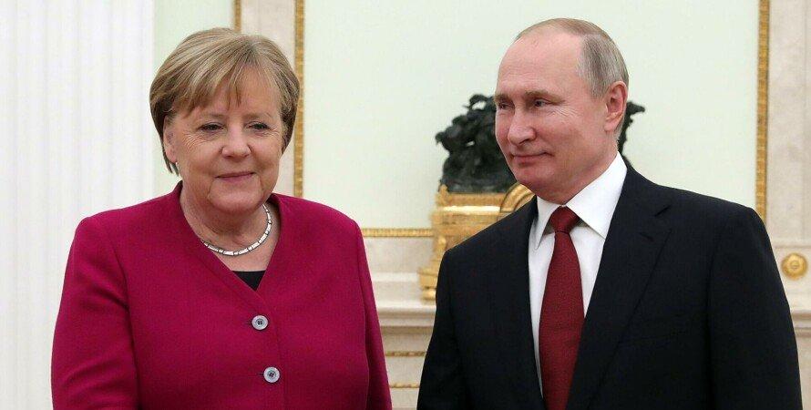 Ангела Меркель, Владимир Путин