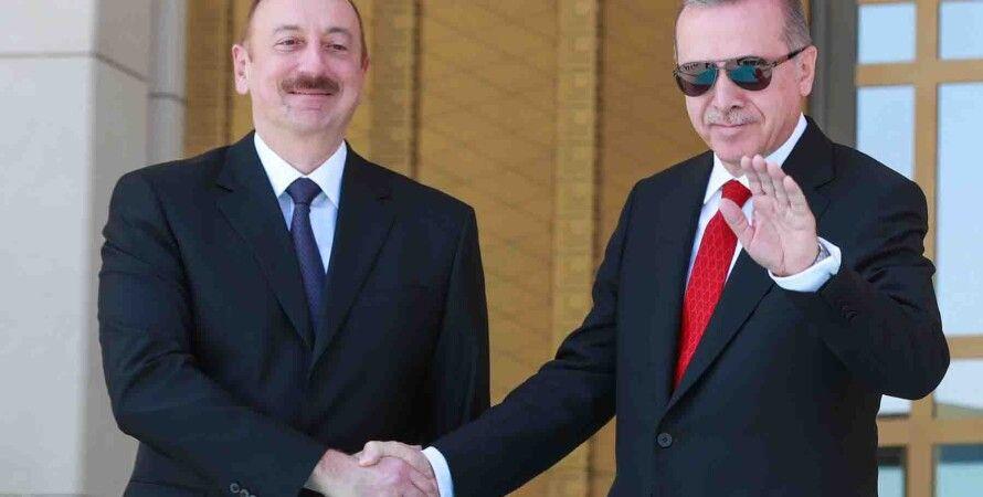 Алиев, Эрдоган, президент, азербайджан, турция